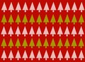 Red Christmas Tree Background Royalty Free Stock Images - 3598689