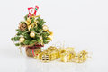 Noel Tree And Gifts Stock Images - 35903484