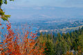 Okanagan Lake And Surrounding Hills Royalty Free Stock Photography - 35907787
