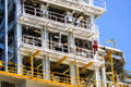 Production Plant In Offshore Oil And Gas Processing Stock Photo - 35910480