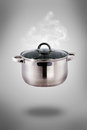 Set Of Pots And Pans Royalty Free Stock Photography - 35929687