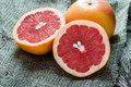 Grapefruit Over Rustic Background Royalty Free Stock Images - 35932809