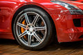 Sports Car Wheel Stock Photos - 35938943