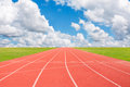 Running Track Royalty Free Stock Image - 35942696