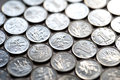 Background Of Coins Stock Photos - 35943013