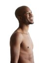 Portrait Of A Young Man Smiling With No Shirt Stock Images - 35948334