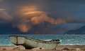 Old Fishing Boat At The Red Sea Royalty Free Stock Photography - 35951387