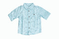 Blue Checkered Shirt Stock Images - 35965264