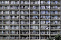 Wall Of Balconies Royalty Free Stock Image - 35972276