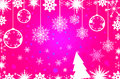 Pink Simple Christmas Background Stock Photos - 35973393
