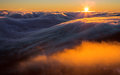 Inversion In The Valley At Sunset Stock Photo - 35991190