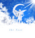Angel On Clouds Stock Photo - 35999480