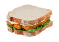 Fish Finger Sandwich Isolated Royalty Free Stock Photo - 36002915