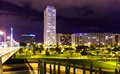 Residential District   In Night. Valencia, Spain Stock Images - 36007404