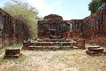 Ruined Old Temple, Ayutthaya, Thailand, Stock Photos - 36009663