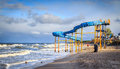 Slide On The Beach Royalty Free Stock Image - 36012316
