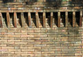 Castle Brick Wall Detail Stock Photography - 36016712