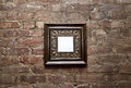 Blank Frame On Brick Wall Royalty Free Stock Photography - 36026477