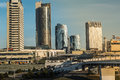 Commercial Buildings In Downtown Of Vilnius City Royalty Free Stock Photo - 36074705