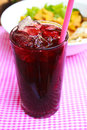 Iced Roselle Juice. Royalty Free Stock Image - 36093236