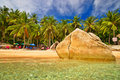 Tropical Beach Royalty Free Stock Photo - 3615205