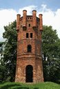 Old Castle Lookout Tower Stock Image - 36100461