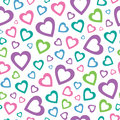 Lovely Hearts Background Royalty Free Stock Photography - 36115087