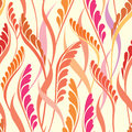 Floral Seamless Background. Abstract Leaves Geometric Seamless Texture Stock Photos - 36134383