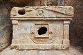 Old Tomb At Olympos In Turkey Royalty Free Stock Photos - 36150378