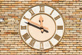 Old Wall Clock Royalty Free Stock Photography - 36151027
