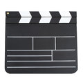 Blank Movie Clapper Royalty Free Stock Image - 36165986