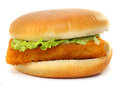 Fillet Of Fish Sandwich Royalty Free Stock Photos - 36179388