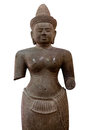 Ancient Statue, Cambodia Stock Photography - 36179582