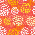Seamless Pattern With Hearts. Stock Photography - 36182672