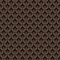 Art Deco Vector Geometric Pattern In Brown Color Stock Image - 36184061