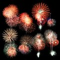 Colorful Firework Royalty Free Stock Photos - 36186928
