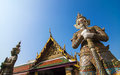 Two Giant Keepers At Grand Palace Stock Image - 36189551