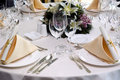 Wedding Diner Table Stock Photos - 3626383