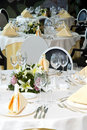 Wedding Diner Table Stock Photos - 3626503
