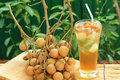 Longan Juice Cold Water Royalty Free Stock Images - 36203839