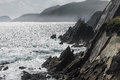Cliffs At Slea Head Royalty Free Stock Photography - 36205787