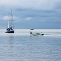 Small Fishing Boat. Stock Image - 36219211