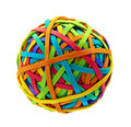 Rubber Band Ball Royalty Free Stock Photography - 36225737