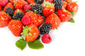 Berries: Blackberry, Strawberry, Raspberry Royalty Free Stock Photography - 36228067