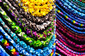 Handmade Colorful Necklaces Royalty Free Stock Photos - 36236578