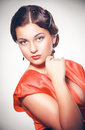 Pin-up Girl. American Style Stock Photography - 36238612