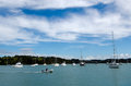 Opua Marina At The  Bay Of Islands New Zealand Royalty Free Stock Image - 36245116