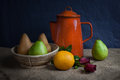 Still Life Fruits Royalty Free Stock Images - 36257839
