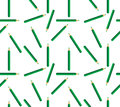 Seamless Background Of Green Pencils Stock Image - 36259291