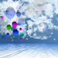 Balloon Background. Royalty Free Stock Photo - 36260895